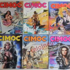 Cómics: LOTE DE CIMOC CÓMIC PARA ADULTOS AVENTURA CIENCIA FICCIÓN ERÓTICO COMICS SEGRELLES 84 88 89 112 125. Lote 44648295