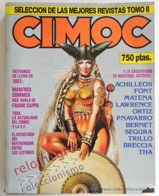 LOTE DE CIMOC RETAPADO CON 5 COMICS - TOMO II PARA ADULTOS CÓMIC SEGRELLES FONT BERNET TRILLO COMICS (Tebeos y Comics - Norma - Cimoc)