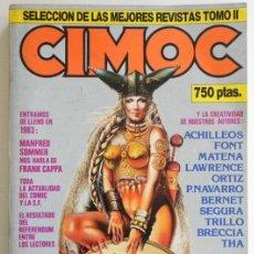 Cómics: LOTE DE CIMOC RETAPADO CON 5 COMICS - TOMO II PARA ADULTOS CÓMIC SEGRELLES FONT BERNET TRILLO COMICS. Lote 44648589