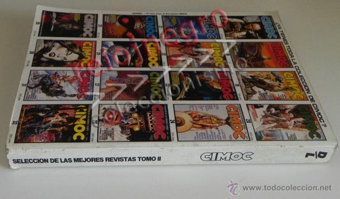 Cómics: LOTE DE CIMOC RETAPADO CON 5 COMICS - TOMO II PARA ADULTOS CÓMIC SEGRELLES FONT BERNET TRILLO COMICS - Foto 2 - 44648589
