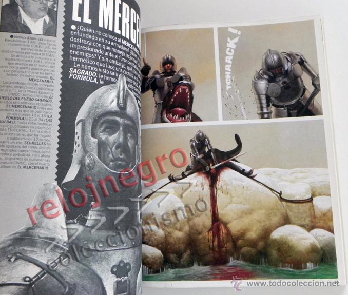 Cómics: LOTE DE CIMOC RETAPADO CON 5 COMICS - TOMO II PARA ADULTOS CÓMIC SEGRELLES FONT BERNET TRILLO COMICS - Foto 4 - 44648589