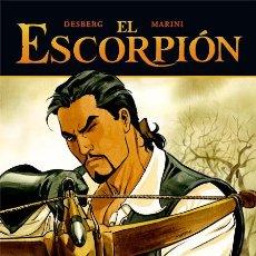 Cómics: CÓMICS. EL ESCORPIÓN 03: LA CRUZ DE PEDRO - DESBERG/ENRICO MARINI (CARTONÉ). Lote 225288321