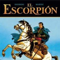 Cómics: CÓMICS. EL ESCORPIÓN 05. EL VALLE SAGRADO - DESBERG/ENRICO MARINI (CARTONÉ). Lote 225288265