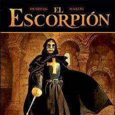 Cómics: CÓMICS. EL ESCORPIÓN 06. EL TESORO DEL TEMPLE - DESBERG/ENRICO MARINI (CARTONÉ). Lote 225288246