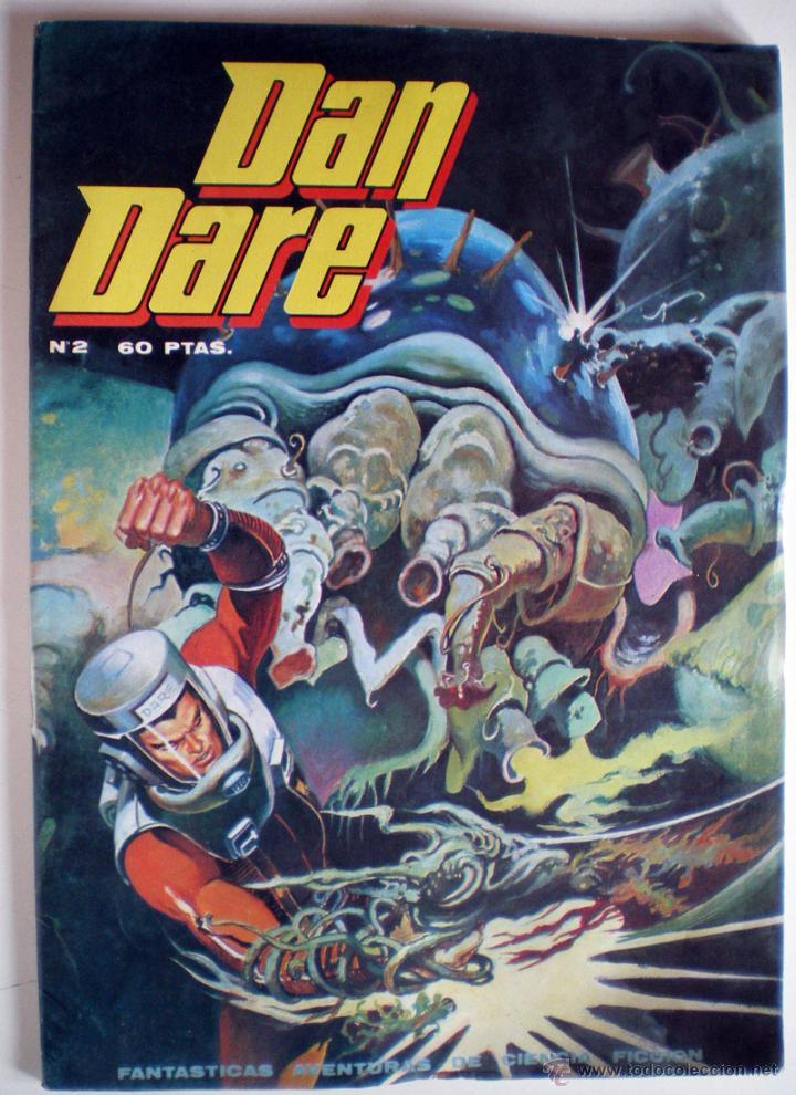 COMIC CIENCIA FICCIÓN DAN DARE Nº 2 NUEVO 1979 (Tebeos y Comics - Norma - Otros)