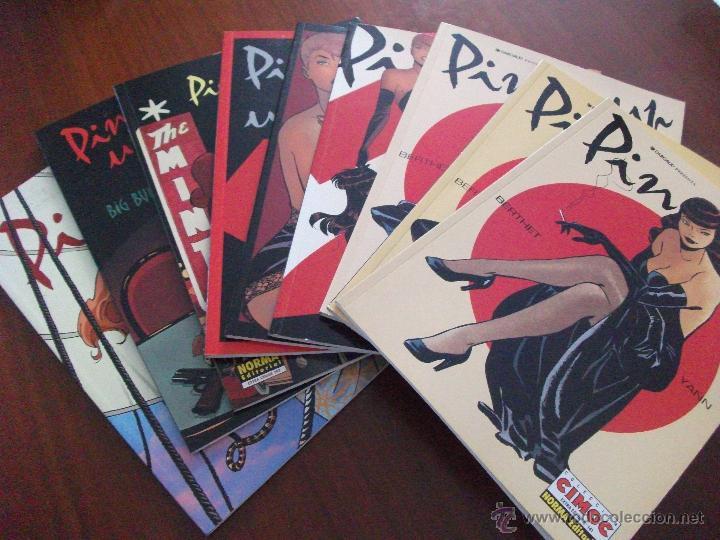 PIN UP COMPLETA NORMA EDITORIAL (Tebeos y Comics - Norma - Otros)