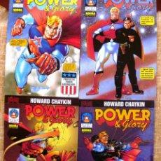 Cómics: POWER & GLORY COMICS, NÚMEROS 1, 2, 3 Y 4 DE 4, NORMA EDITORIAL, AUTOR HOWARD CHAYKIN, AÑOS 1994-95. Lote 44904101