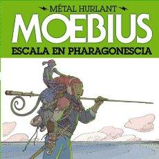 Cómics: CÓMICS. ESCALA EN PHARAGONESCIA - MOEBIUS (CARTONÉ). Lote 180855763