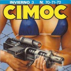 Cómics: CIMOC INVIERNO 3 (NÚMEROS 70, 71, 72). Lote 45009449