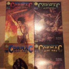 Cómics: CORMAC - ROY THOMAS - COMPLETA - 4 COMIC - NORMA. Lote 45024321
