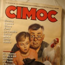 Cómics: CIMOC NORMA EDITORIAL. CIMOC Nº 69 (DE 176). JOSÉ ORTIZ, BRECCIA, LOISEL, ALFONSO FONT, 82 PÁGINAS. Lote 45039016
