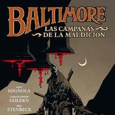 Cómics: CÓMICS. BALTIMORE 2: LAS CAMPANAS DE LA MALDICIÓN - MIKE MIGNOLA/CHRISTOPHER GOLDEN/BEN STENBECK. Lote 45096093
