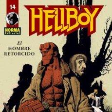 Cómics: CÓMICS. HELLBOY 14: EL HOMBRE RETORCIDO - MIKE MIGNOLA/RICHARD CORBEN. Lote 45112511