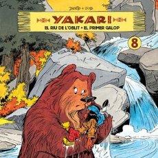Cómics: CÓMICS. YAKARI VOL. 08 (CATALÀ) - JOB/DERIB (CARTONÉ). Lote 235818175