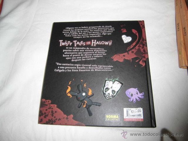 Cómics: TWISTY TALES OF HALOWII TALES OF HALOWII.TORKE.EDIT.NORMA 2009.-1ª EDICION - Foto 3 - 94565251