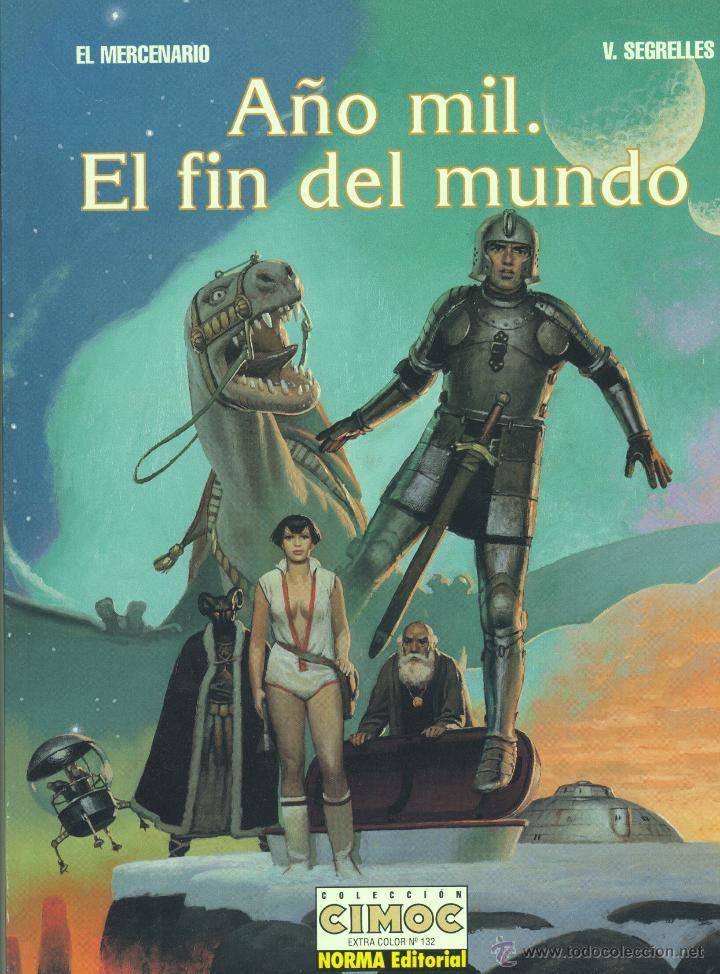 EL MERCENARIO (COLECIÓN CIMOC EXTRA COLOR Nº132). VICENTE SEGRELLES (Tebeos y Comics - Norma - Cimoc)