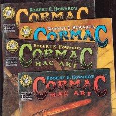 Cómics: CORMAC MINISERIE COMPLETA DE 4 EJEMPLARES. Lote 45310591