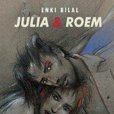 Cómics: CÓMICS. JULIA & ROEM - ENKI BILAL (CARTONÉ). Lote 46412360