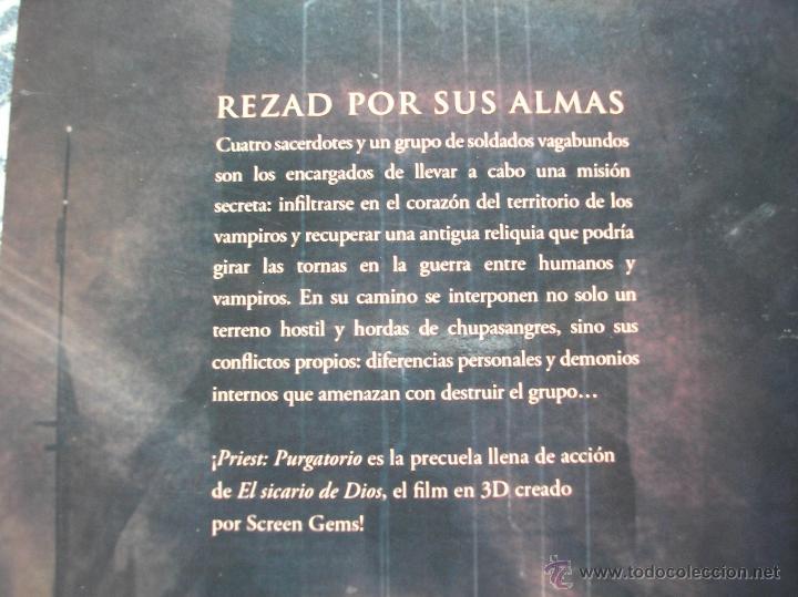 Cómics: Priest Purgatorio 1 Precuela de El sicario de dios - Posibilidad de entrega en mano en Madrid - Foto 2 - 45343186