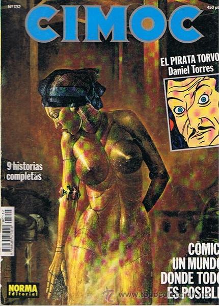CIMOC N.132 (Tebeos y Comics - Norma - Cimoc)