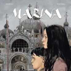 Cómics: CÓMICS. MARINA 1. LOS HIJOS DEL DUX - ZIDROU/MATTEO (CARTONÉ). Lote 269120483