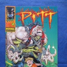 Cómics: PITT DE DALE KEOWN N.º 2 - NORMA EDITORIAL - SEPTIEMBRE 1998. Lote 45534452