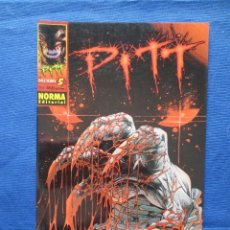 Cómics: PITT DE DALE KEOWN N.º 5 - NORMA EDITORIAL - ENERO 1999. Lote 45534484