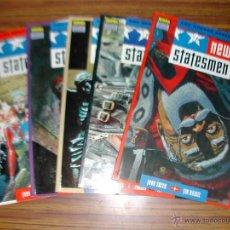 Cómics: LOTE 5 COMICS. NEW STATESMEN. SERIE COMPLETA. NORMA EDITORIAL. AÑO 1991. 9344.. Lote 45535611