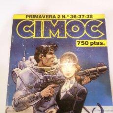 Cómics: CIMOC - RETAPADO CON 3 COMICS - NUMS 36 37 38. Lote 45549675