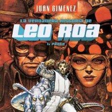 Cómics: CÓMICS. LA VERDADERA HISTORIA DE LEO ROA 1 - JUAN GIMÉNEZ (CARTONÉ). Lote 224121173