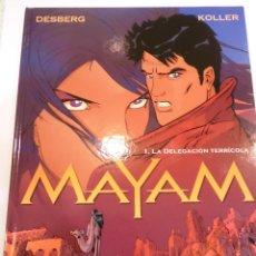 Cómics: MAYAM - 4 COMICS - OBRA COMPLETA - NUEVOS. Lote 45618133