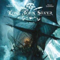 Cómics: CÓMICS. LONG JOHN SILVER 2. NEPTUNE - XAVIER DORISON/MATHIEU LAUFFRAY (CARTONÉ). Lote 45791831