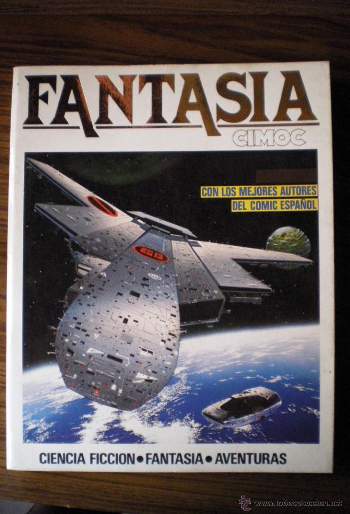 COMIC CIMOC FANTASÍA EXTRA Nº 5 CON 3 COMICS NºS 22-23-26 NORMA 1982 NUEVO (Tebeos y Comics - Norma - Cimoc)