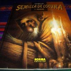 Cómics: SEMILLA DE LOCURA 1, IGGUK DE CIVIELLO. NORMA EDITORIAL 1ª PRIMERA ED. 1997.. Lote 45862221