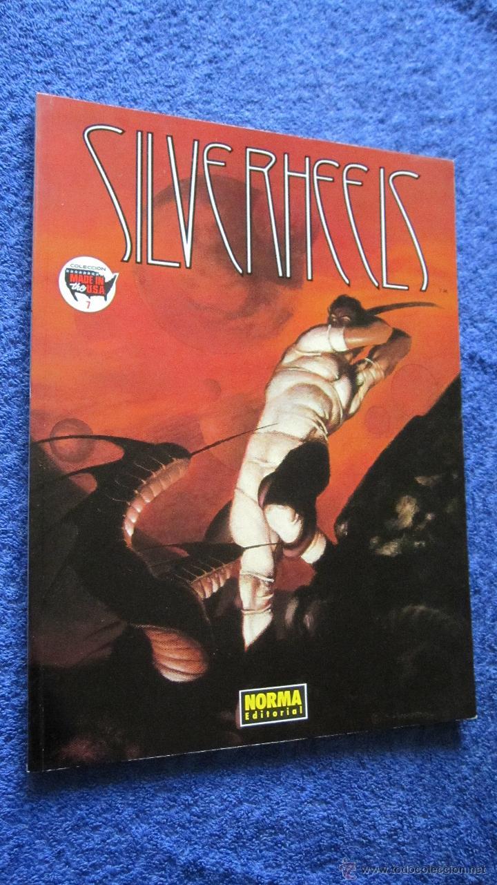 NORMA EDITORIAL : SILVERHEELS.- COLECCION MADE IN USA Nº7 .TAPA CARTONE (Tebeos y Comics - Norma - Comic USA)
