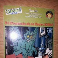 Cómics: ADELE - EL DEMONIO DE LA TORRE EIFFEL - CIMOC EXTRA COLOR - TARDI - NORMA. Lote 45875723