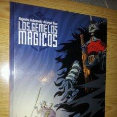 Cómics: LOS GEMELOS MAGICOS - JODOROWSKY - BESS - NORMA - TAPA DURA. Lote 45877019