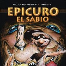 Cómics: EPICURO EL SABIO - TOMO NORMA - WILLIAM MESSENER LOEBS Y SAM KIETH - 23€. Lote 79951635