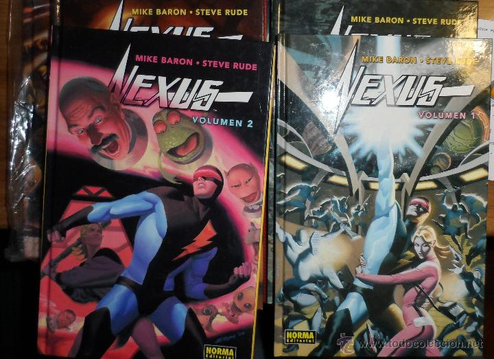 NEXUS. STEVE RUDE. NORMA. TOMOS 1 A 5. (Tebeos y Comics - Norma - Comic USA)