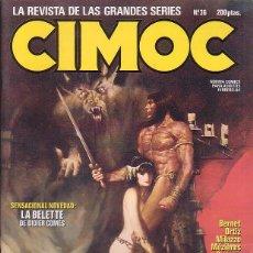 Cómics: CIMOC Nº 36 - EDITA : NORMA. Lote 46004442