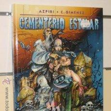 Cómics: CEMENTERIO ESTELAR AZPIRI NORMA OFERTA. Lote 95884822