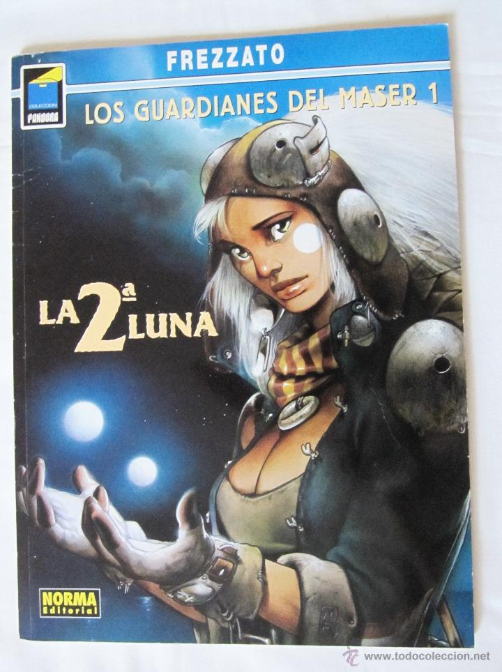 LOS GUARDIANES DEL MASER 1 - LA 2 ª LUNA - NORMA EDITORIAL - FREZZATO - COLECCION PANDORA (Tebeos y Comics - Norma - Comic Europeo)