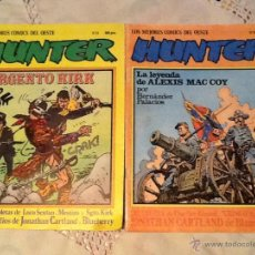 Cómics: CÓMICS HUNTER 1981. Lote 46101429