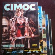 Cómics: REVISTA CIMOC Nº 102 - 106 EDITADOS A PARTIR DE SEPTIEMBRE DE 1.989.. Lote 46154142