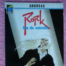 Cómics: RORK 2 EDITORIAL NORMA 1991 LUZ DE ESTRELLA PANDORA 22 POR ANDREAS EDICIÓN 1ª. Lote 46176801