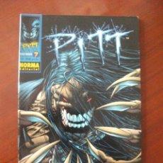 Cómics: PITT Nº 7 NORMA EDITORIAL. Lote 46529848