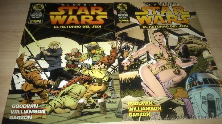 COMICS STAR WARS - STAR WARS CLASSICS 5 Y 6: EL RETORNO DEL JEDI - NORMA EDITORIAL (Tebeos y Comics - Norma - Otros)