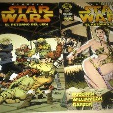 Cómics: COMICS STAR WARS - STAR WARS CLASSICS 5 Y 6: EL RETORNO DEL JEDI - NORMA EDITORIAL. Lote 46542719
