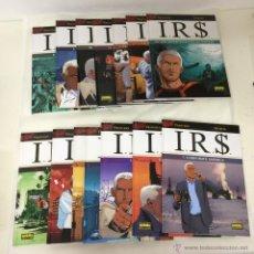 Cómics: IRS 1 2 3 4 5 6 7 8 9 10 11 12 13 14 15 16 COMPLETA NORMA -DESBERG - DISPONIBILIDAD SUELTOS. Lote 46554226