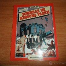 Cómics: CIMOC EXTRA COLOR Nº 8 SOMBRAS DE NINGUNA PARTE POR WININGER EDITA NORMA 1983. Lote 47035845